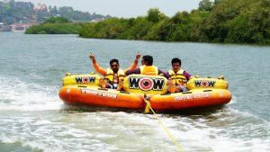 Banana Boat Ride in Goa
