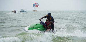 Body Boarding in Goa