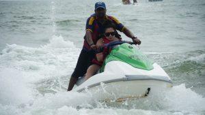 Surfing Goa