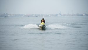 Jet Ski Ride in Goa