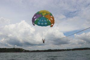 Discover Parasailing Basic Goa